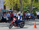 Honda tổ chức hướng dẫn lái xe mô tô an toàn cho sinh viên