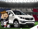 Hyundai-KIA mang 875 xe tới phục vụ EURO 2016
