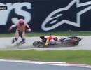 """Không cần đến Rossi, Marquez đã """"biết"""" tự ngã"""