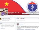 """Fanpage Bộ trưởng Y tế có số """"like"""" tăng chóng mặt"""