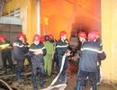 Cháy lớn suốt 5 giờ trong khu chế xuất Tân Thuận