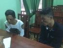Cảnh sát hình sự bắt gọn 2 tên cướp ví tiền người mua hàng