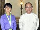 Tổng thống Myanmar Thein Sein nhất trí gặp bà Suu Kyi