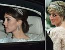 Công nương Kate lần đầu đội vương miện ưa thích của Công nương Diana