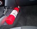 Phạt tới 500.000đ với ô tô không có bình cứu hỏa