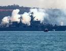 Nga: Hạm đội Biển Đen tập trận tên lửa trên Địa Trung Hải