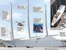 Tỷ phú Nga khoe du thuyền lớn nhất thế giới hơn 9.000 tỷ đồng