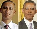"""Obama """"giả"""" kể chuyện nói tiếng Anh giả"""
