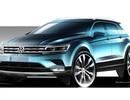 Hình ảnh đầu tiên của Volkswagen Tiguan thế hệ mới