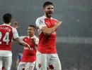 Vượt qua Everton, Arsenal lên ngôi đầu bảng