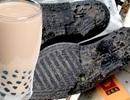 Hãi hùng trà sữa trân châu làm từ đế giày, săm lốp và bỉm trẻ em