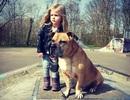 Ấn tượng chùm ảnh tình bạn giữa bé gái và cún cưng