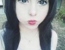 Nữ sinh Úc xinh đẹp y búp bê Nhật
