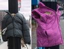 Trẻ em Canada mang áo ra phố cho người vô gia cư