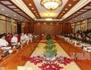 Bộ Chính trị làm việc với Ban Thường vụ Quân ủy Trung ương