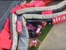 Clip tai nạn ở tốc độ 320 km/h của tay đua Carlos Sainz Jr