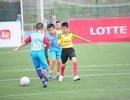 Sôi động sân chơi bóng đá thiếu nhi tại Hà Nội