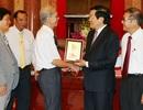 Chủ tịch nước gặp mặt cán bộ lão thành chủ chốt của Tòa án nhân dân