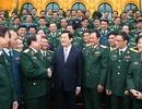 """Chủ tịch nước gặp mặt thân mật các điển hình """"Dân vận khéo"""" toàn quân"""