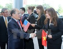 Chủ tịch Quốc hội Nguyễn Sinh Hùng gặp Chủ tịch thượng viện, Hạ viện bang Massachussetts