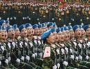 Hình ảnh đoàn diễu binh oai hùng, khí thế tại Quảng trường Ba Đình
