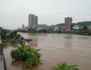 Nước lũ rút chậm ở vùng thượng nguồn sông Hồng