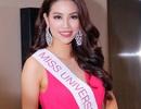 Hoa hậu Phạm Hương hát tặng mọi người trước khi lên đường sang Mỹ