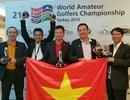 Giải golf quốc tế WAGC: Đoàn Việt Nam xếp thứ 3 thế giới