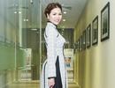 Hoa hậu Bùi Thị Hà thanh lịch với áo dài cổ điển
