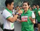 MC Nguyên Khang và Hoa hậu Giáng My hào hứng tham gia giải chạy vì cộng đồng