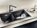 5 lưu ý vàng phải nằm lòng khi chọn chậu rửa và vòi bếp