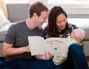 Ông chủ Facebook đọc sách vật lý cho con khi mới 2 tuần tuổi
