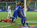 Đánh bại Bulgaria, Italia vươn lên ngôi đầu bảng