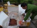 Phát hiện gần 400kg thực phẩm chay đông lạnh nhập lậu từ Trung Quốc