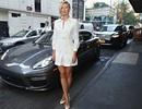 Maria Sharapova điệu đà với váy ren