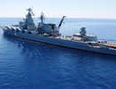 Nga tập trận hải quân gần bờ biển Syria