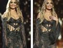 Rita Ora cuốn hút với váy ren mỏng manh