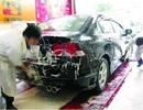 Chăm sóc xe ô tô sau khi đi mưa