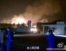 Trung Quốc lại chấn động với vụ nổ kho hóa chất mới ở Sơn Đông
