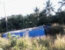 5 người Việt bị thương trong vụ lật xe du lịch ở Thái Lan