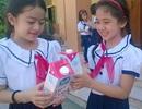 Nghệ An: Niềm vui ngày khai giảng với những ly sữa học đường