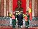 Chủ tịch nước thăng hàm Đại tướng cho 2 tướng quân đội