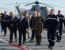 Tổng thống Pháp lên tàu sân bay động viên quân đánh IS