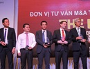 VietinBankSc đạt giải Đơn vị tư vấn M&A tiêu biểu 2014 - 2015