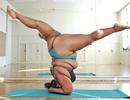 """Cô gái """"ngoại cỡ"""" với tình yêu yoga"""