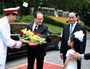 """Truyền thông thế giới chú ý tới các hợp đồng """"khủng"""" trong chuyến thăm của Tổng thống Pháp"""
