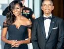 """Ông Obama khen """"đường cong"""" của vợ"""