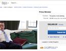Thủ tướng Anh Cameron bị rao bán trên eBay