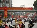 Đường phố Hà Nội rực rỡ trước ngày bầu cử Quốc hội