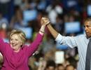 Tổng thống Obama lần đầu đi vận động tranh cử cho bà Clinton